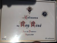 Calissons du Roy René - Produit