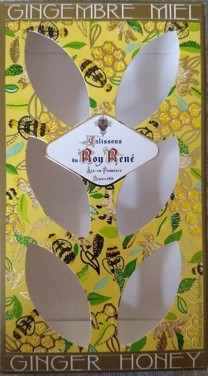 Calissons du roy rene Gingembre miel - Product