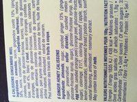 Calissons du roy rene - Ingrédients