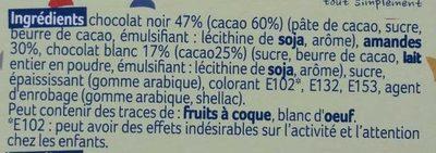 Olivettes du Roy René - Ingrédients