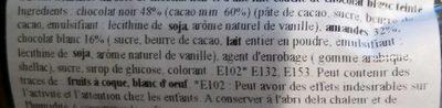 Olivettes - Ingrédients - fr