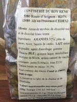 Olivettes - Informations nutritionnelles