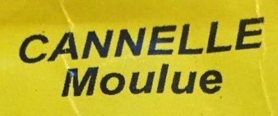 Cannelle moulue - Ingredients - fr