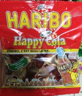 original happy cola haribo 120 g
