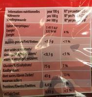 Original Happy Cola - Nutrition facts - fr