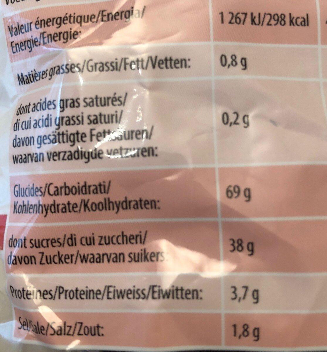 Rotella l'original - Valori nutrizionali - fr