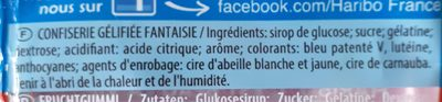 Les Schtroumpfs - Ingredients