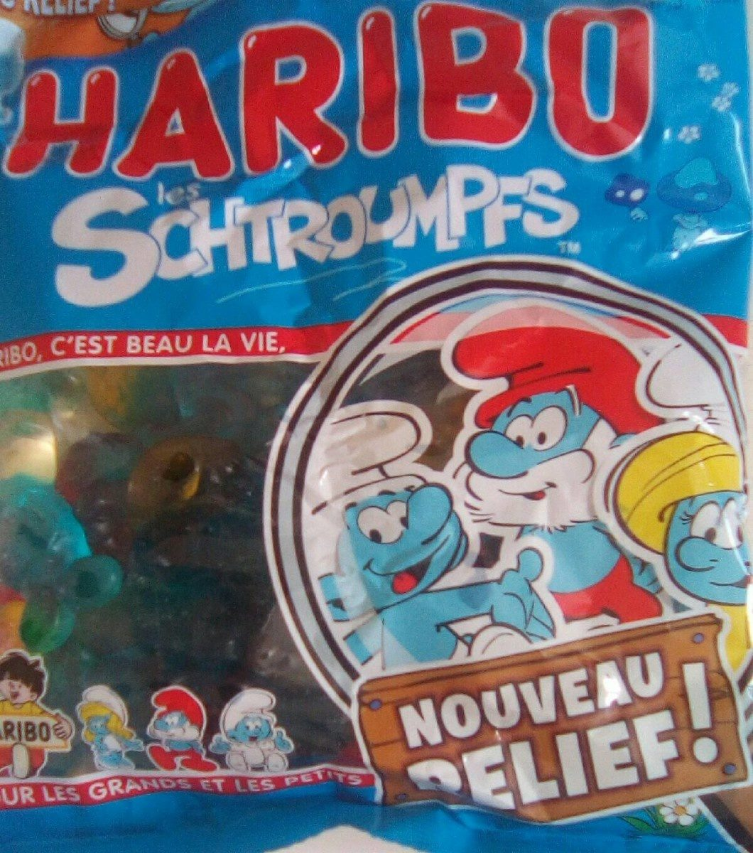 Les Schtroumpfs - Informations nutritionnelles - fr