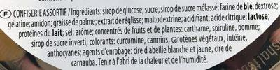 Happy box - Ingredients - fr
