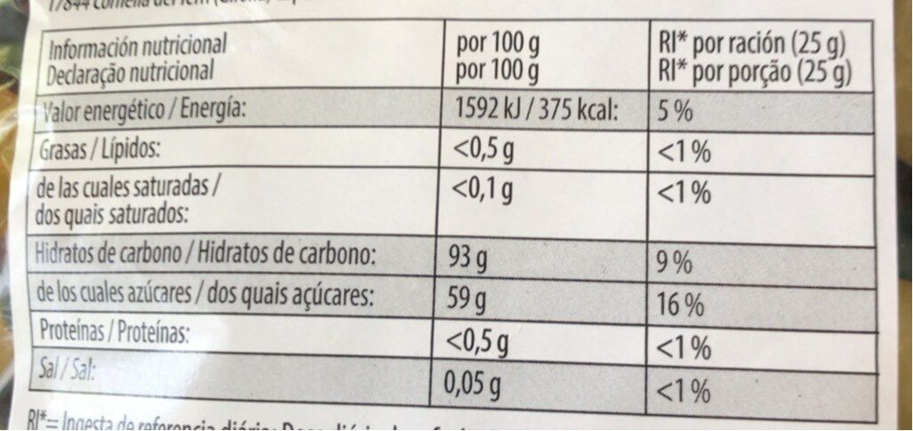 Haribo - Dragibus Soft - Informations nutritionnelles - fr