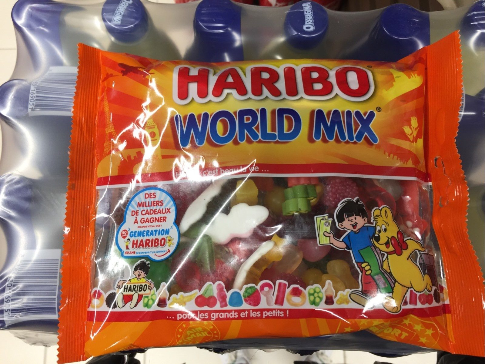 Haribo World Mix - Produit - fr