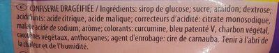 Dragibus Soft - Ingrédients - fr
