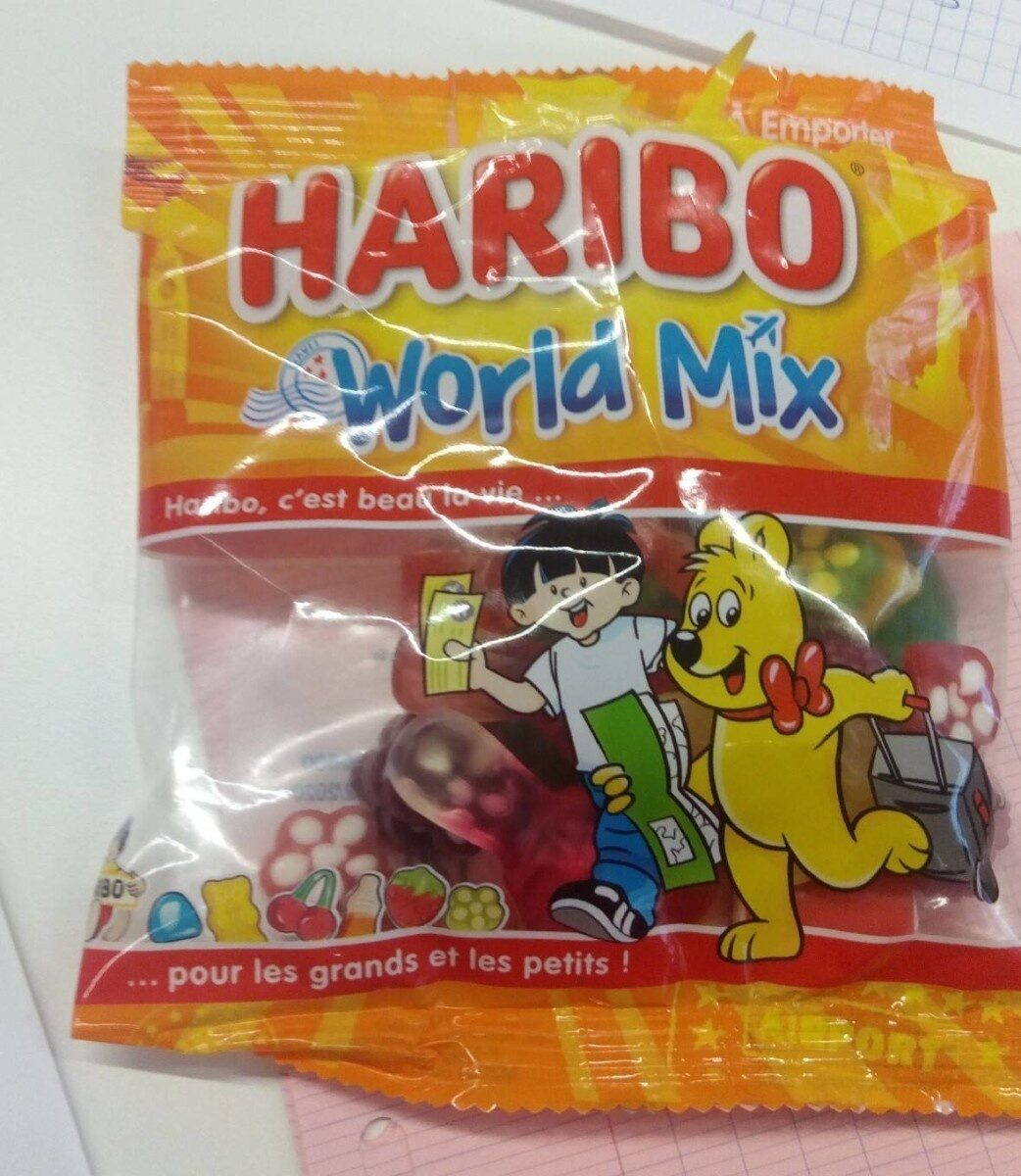HARIBO world mix - Product - fr