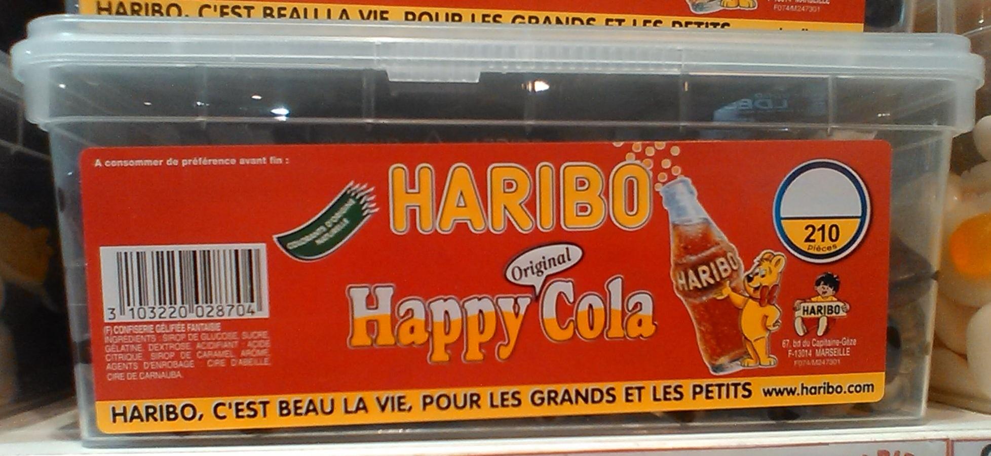 original happy cola haribo 1 1 kg