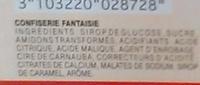 Bouteille Cola Mistral Pik - Ingredients - fr