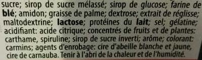 Cocobat - Ingrédients - fr