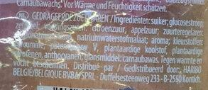 Dragibus - Ingrediënten - nl
