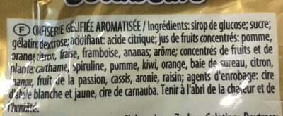 L'ours d'or - Ingredients
