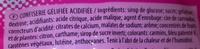 Confiserie gélifiée acidifiée - Ingredients - fr