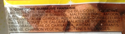 Chamallows goût cola - Ingredients - fr