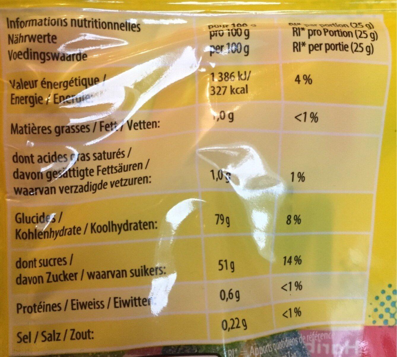 MIAMI PIK 200G - Nutrition facts - fr