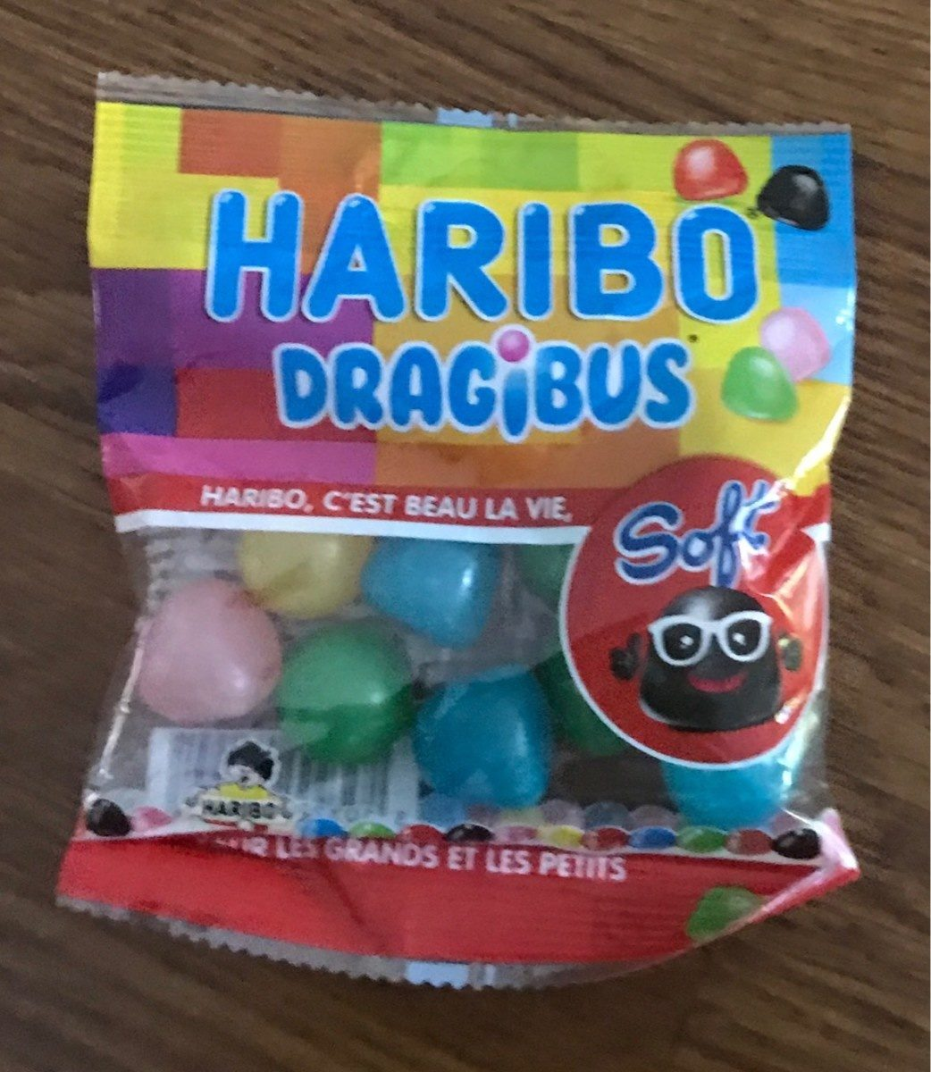 Haribo Dragibus Soft - Produit