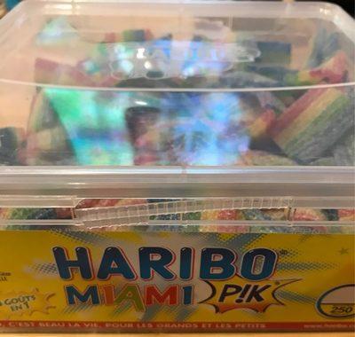 Bonbon Gélifié Miami Pik x 250 Pièces 1,17 - Produit