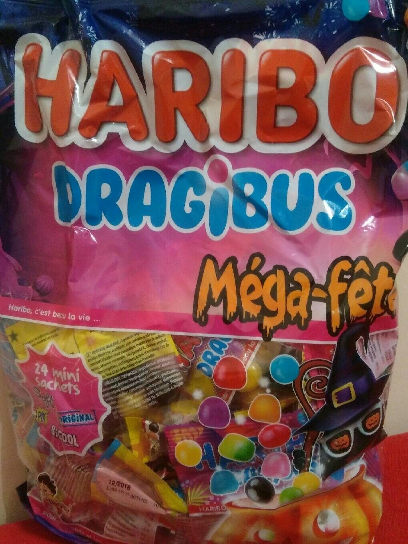 Bonbons Mega Fête Dragibus - Produit - fr