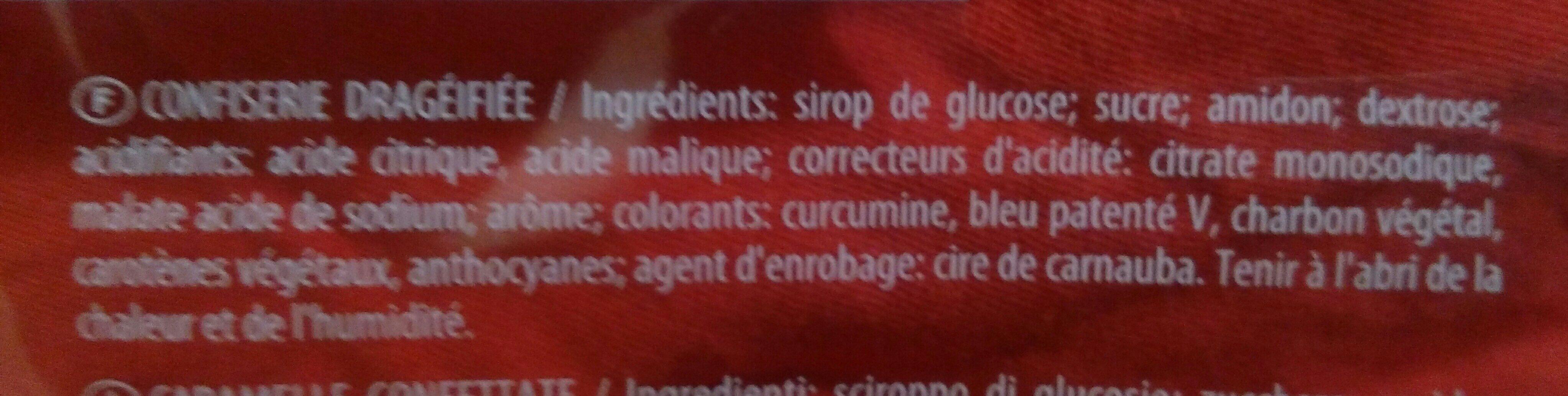 Bonbons Mega Fête Dragibus - Ingrédients - fr