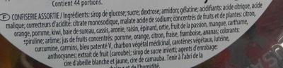 Dragolo - Ingrediënten - fr