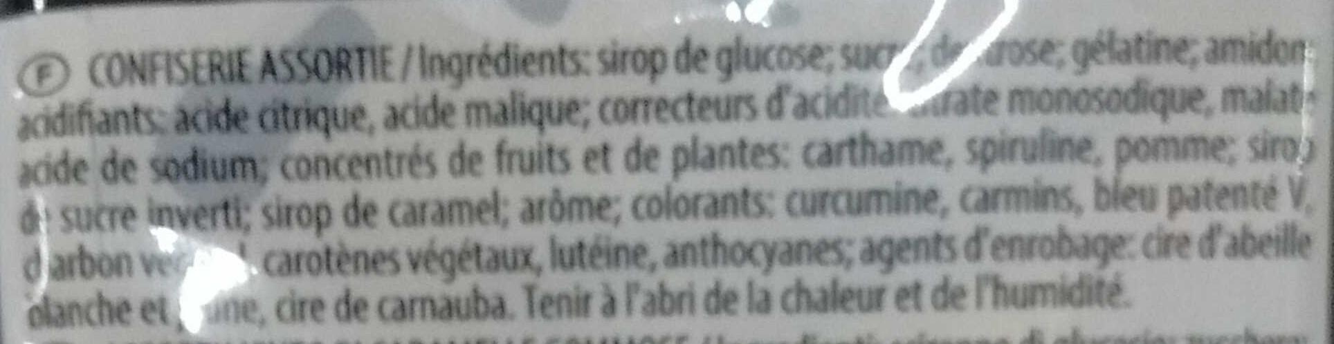 L'île au Trésor - Confiserie assortie - Ingredients - fr