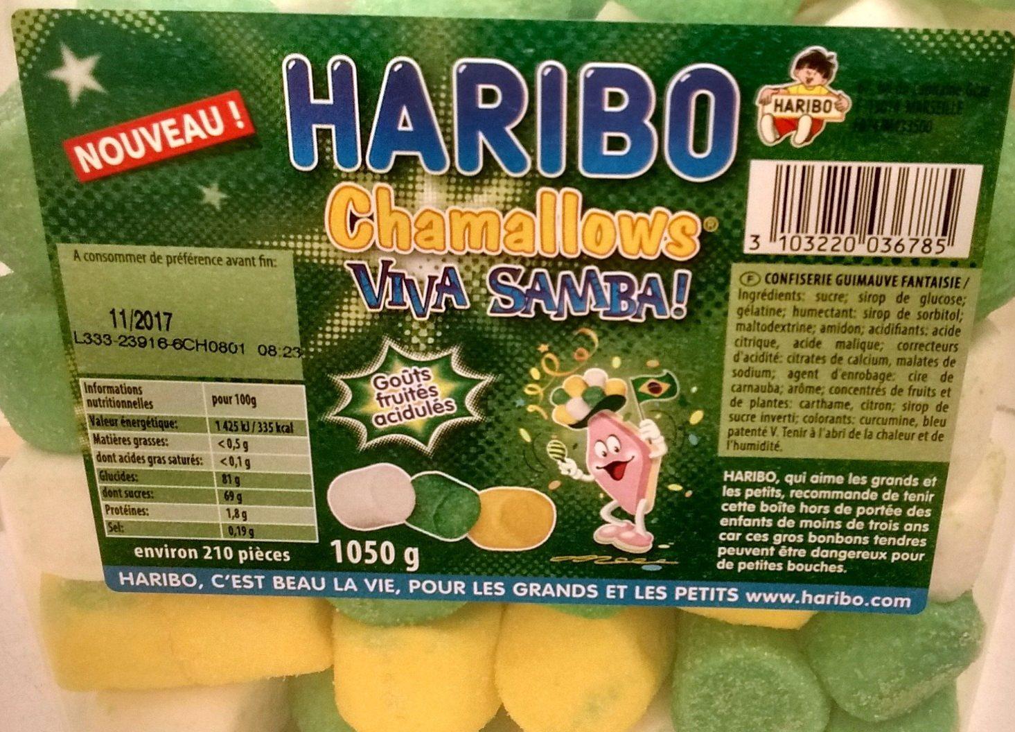 Chamallows Viva Samba - Product