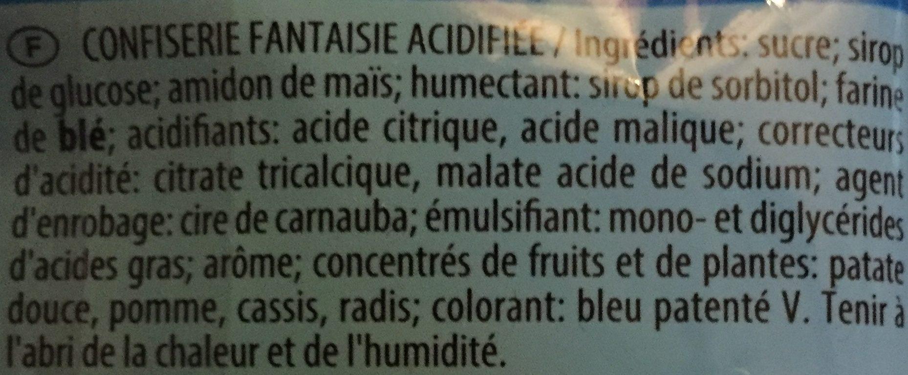 Color P!k Les Schtroumpfs - Ingredients - fr