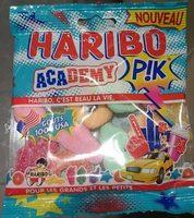 Académy P!k - Confiserie gélifiée acidifiée - Produit - fr
