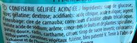 Académy P!k - Confiserie gélifiée acidifiée - Ingrédients - fr
