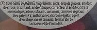 Fraizibus - Ingrediënten