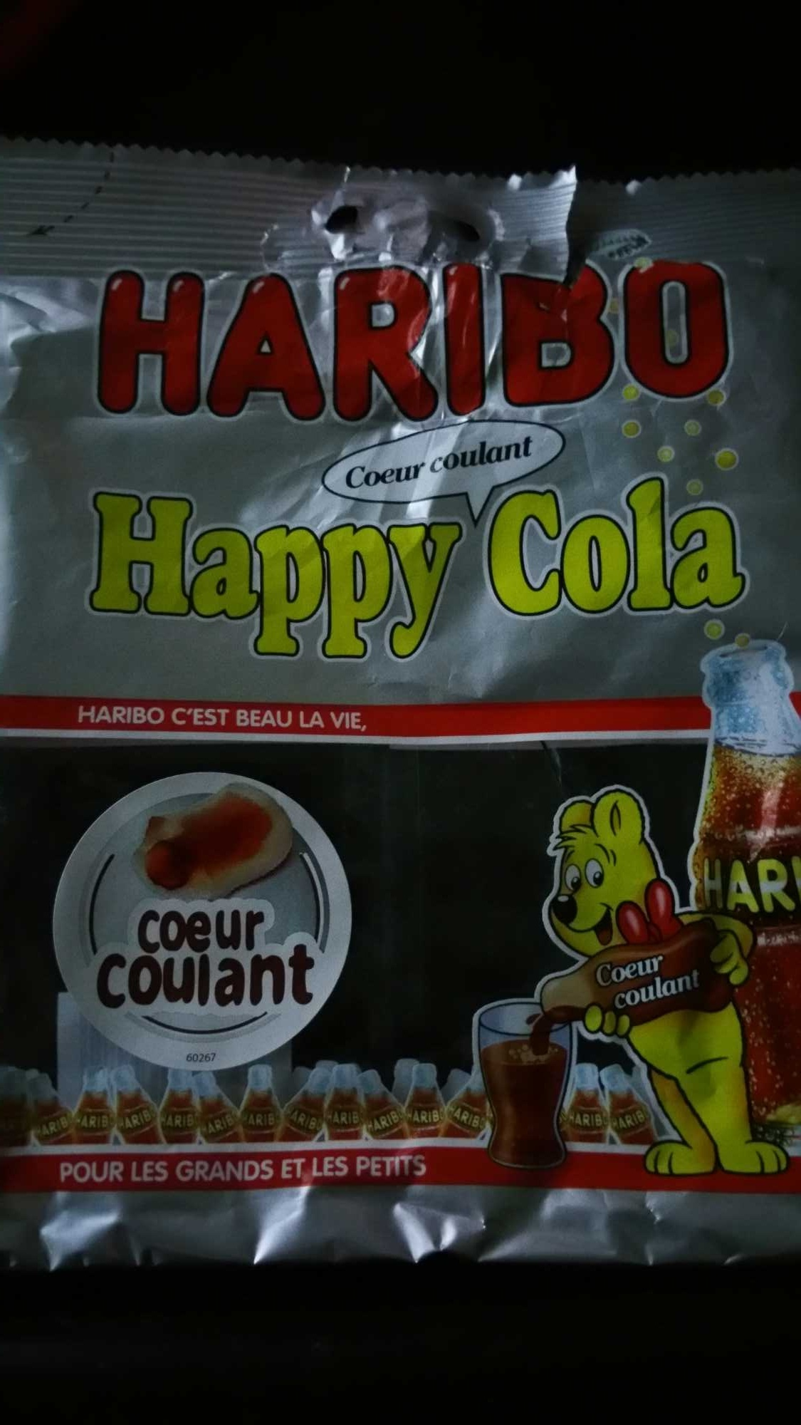 Happy Cola coeur coulant - Produit - fr