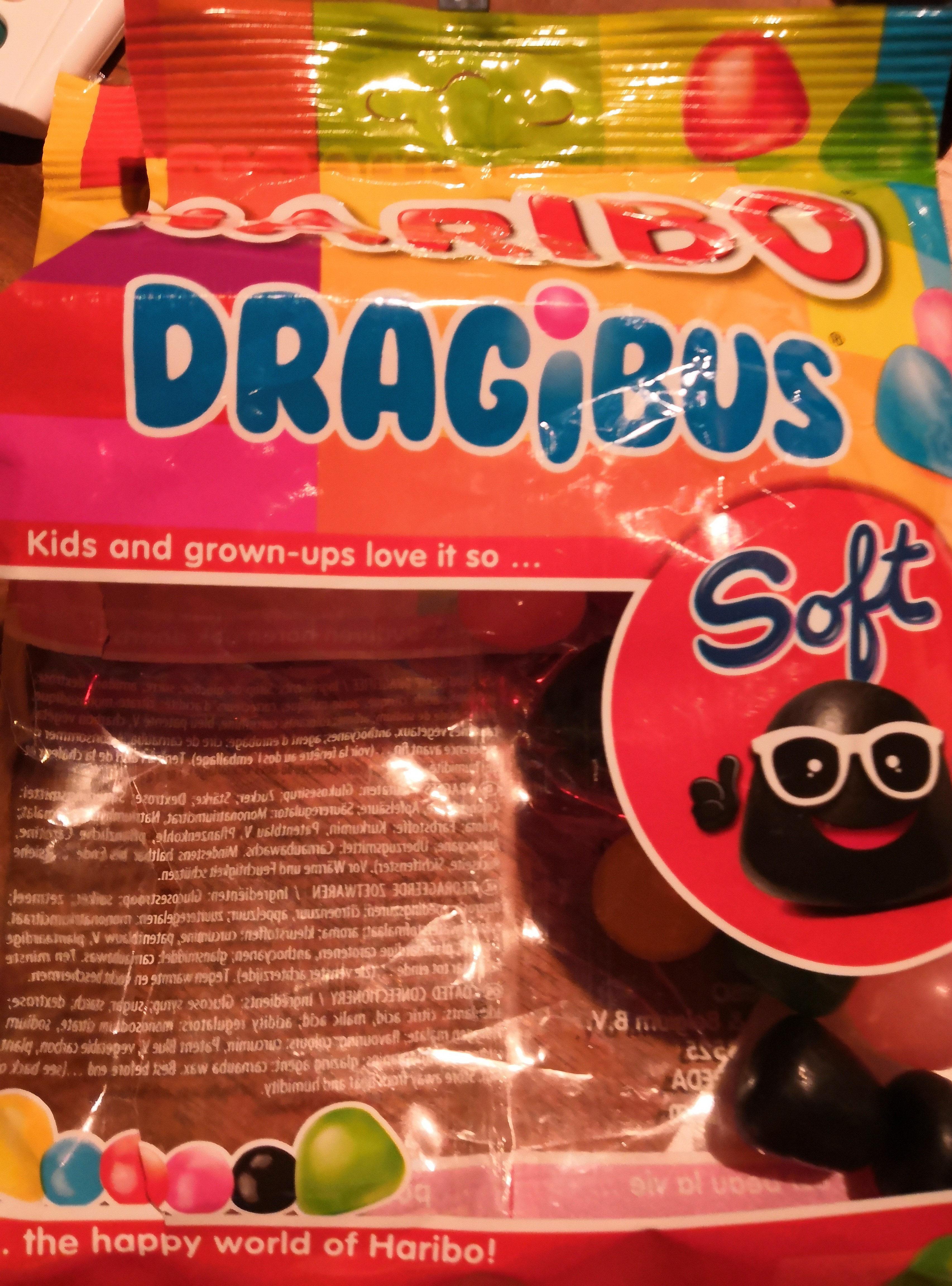 Haribo Dragibus Soft - Product