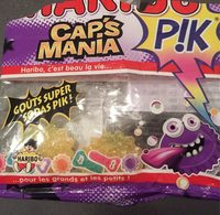 Bonbons Cap's Mania Pik Haribo 100GR - Informations nutritionnelles