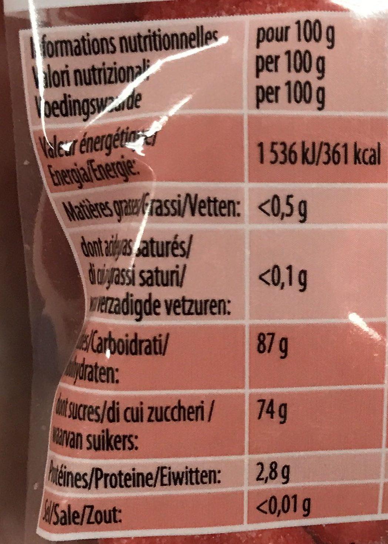 Tagada l'Originale In The Pocket! - Nutrition facts