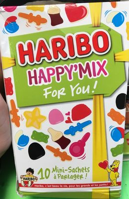 Bonbons Happy' Mix - Produit