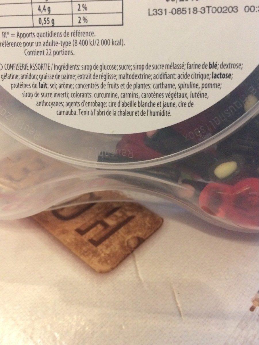 Tirlibibi - Ingrediënten