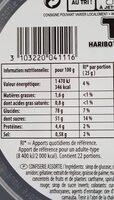 Haribo tirlibibi - Informations nutritionnelles - fr