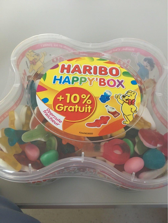 Bonbons Happy' box 850 g - Produit - fr