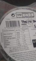 The Pik box - Informations nutritionnelles - fr