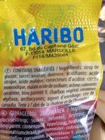 Dragibus party - Ingredients