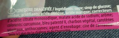 Dragibus - Ingredients - fr