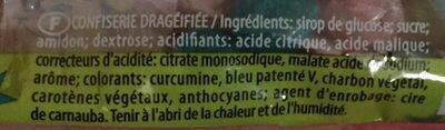 Dragibus Pik - Ingredients