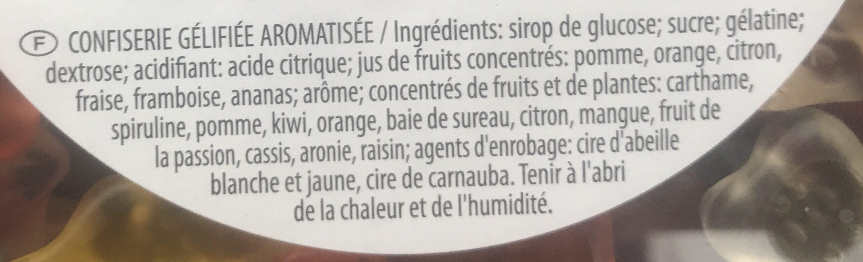 Goldenbears - Ingredients