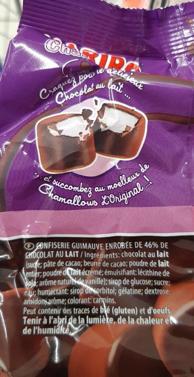 Chamallows Choco - Ingrédients - fr